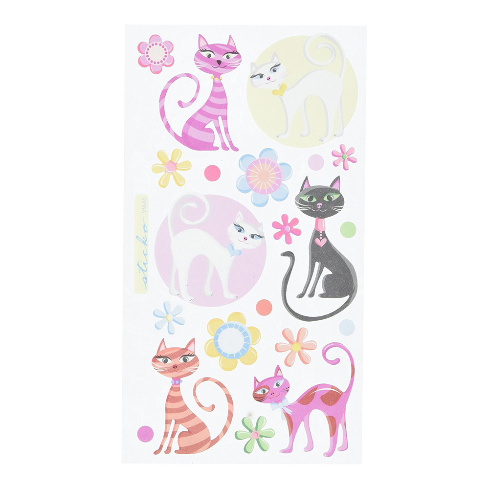 Stickopotamus Stickers Krazy Kittens