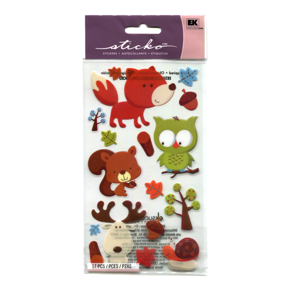 Stickopotamus Stickers Forest Friends