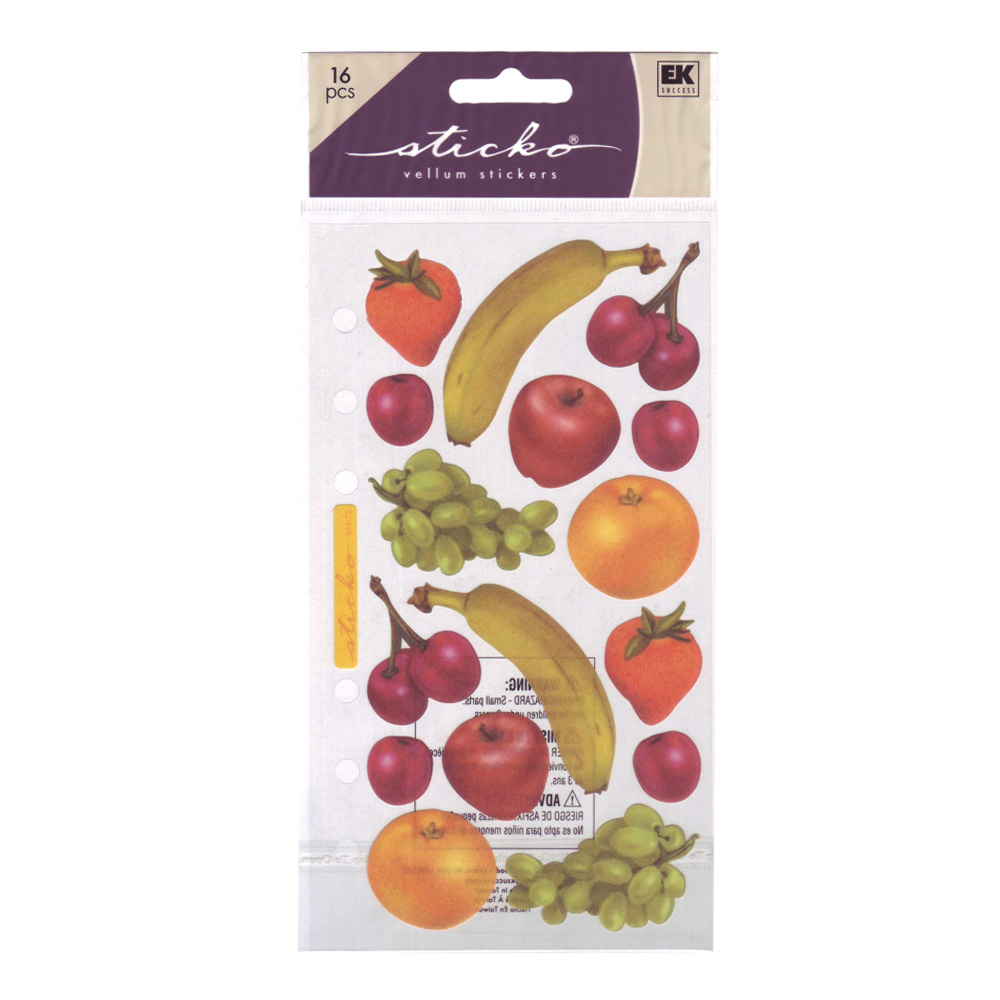 Stickopotamus Stickers Fruity