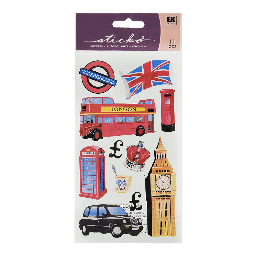 Sticko Vellum Stickers London