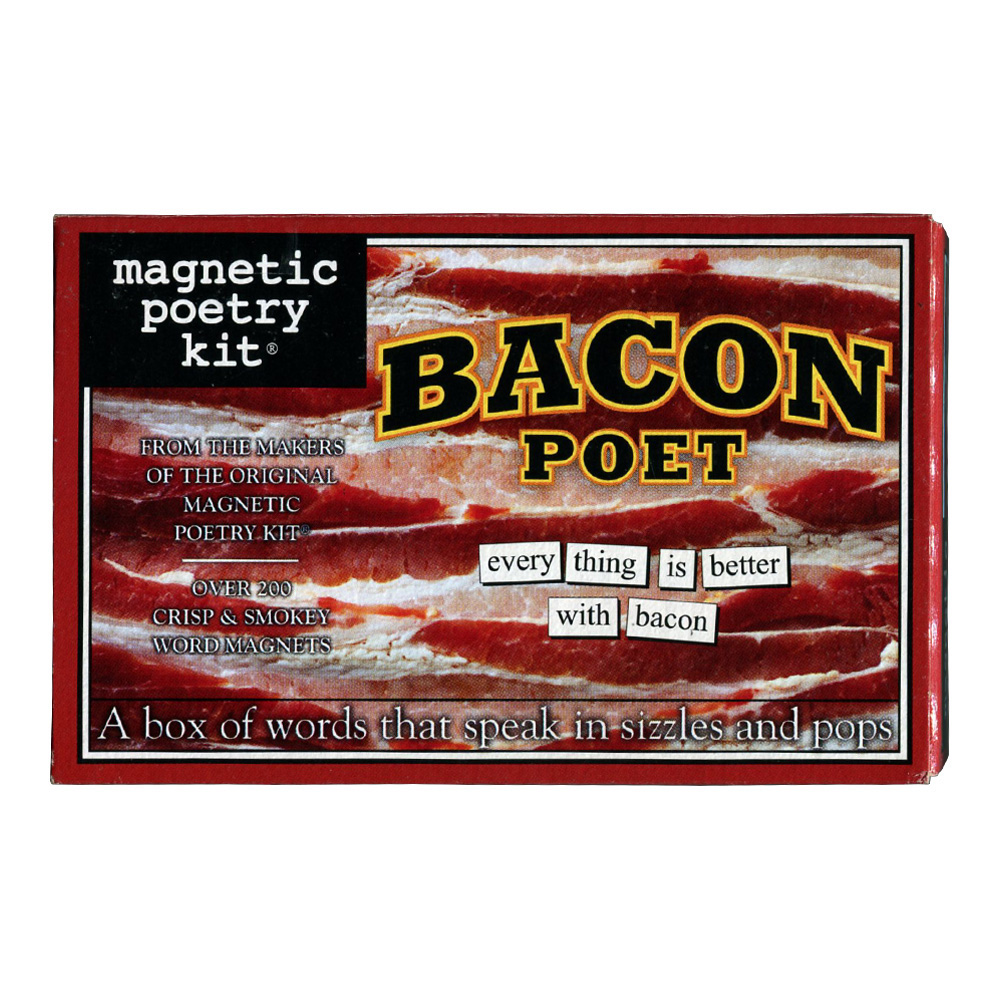 Magnetic Poetry Kit: Bacon Poet
