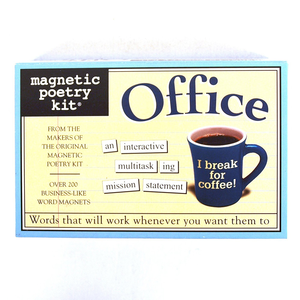Magnetic Poetry Kit: Office