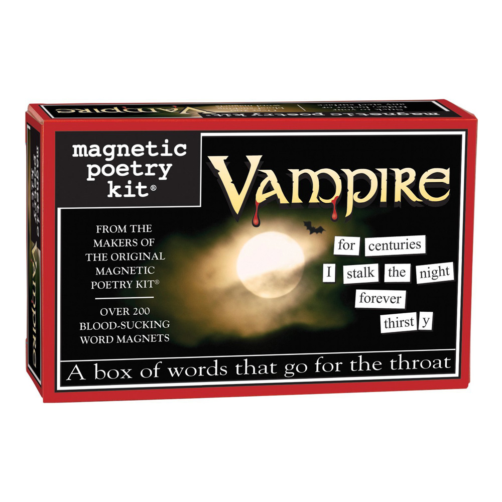 Magnetic Poetry Kit: Vampire
