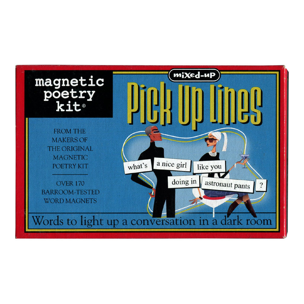 Magnetic Poetry Kit: Mixed-Up Pick Up Lines