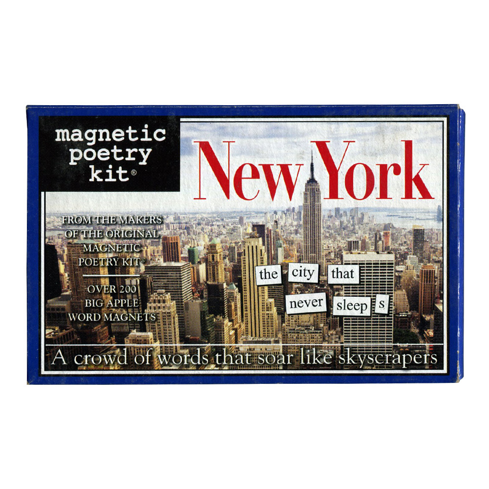 Magnetic Poetry Kit: New York