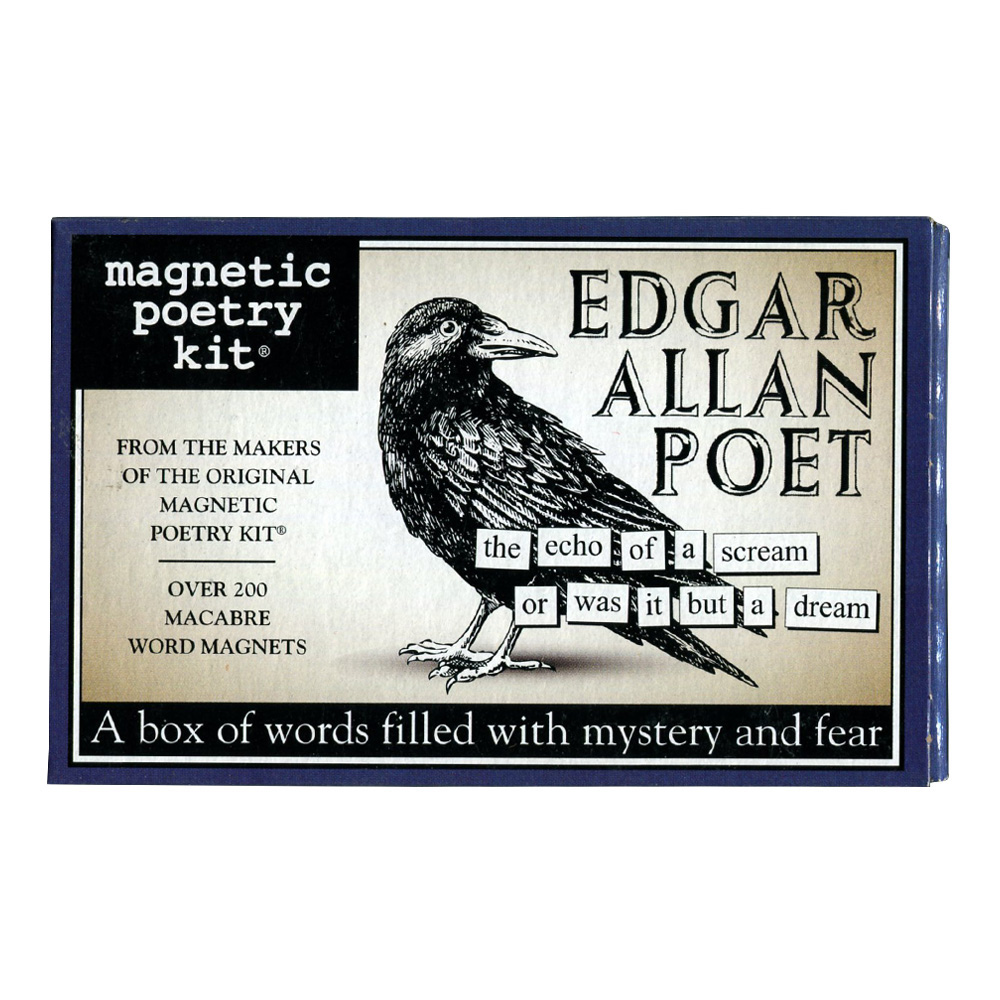 Magnetic Poetry Kit: Edgar Allen Poet