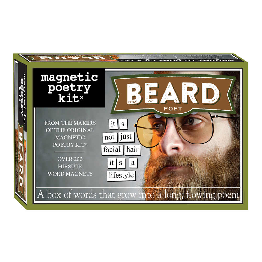 Magnetic Poetry Kit: Beard Poet