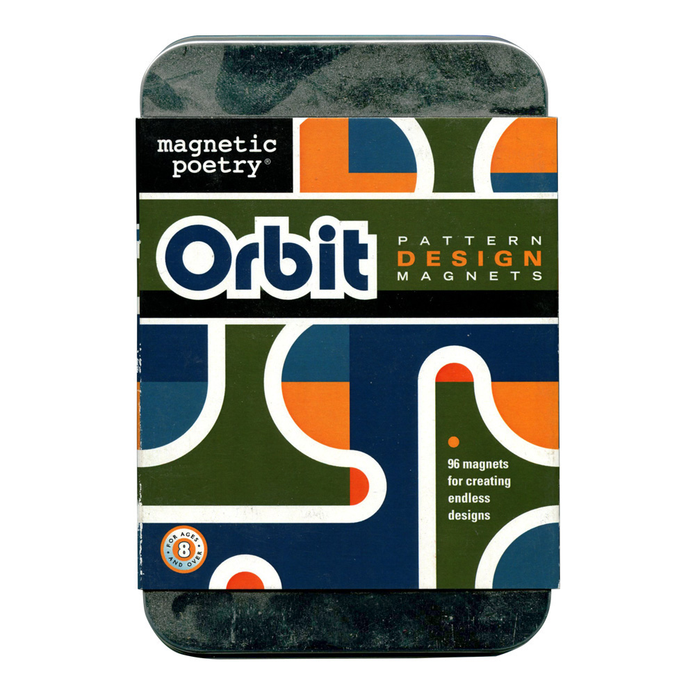 Magnetic Poetry: Orbit Design Magnets