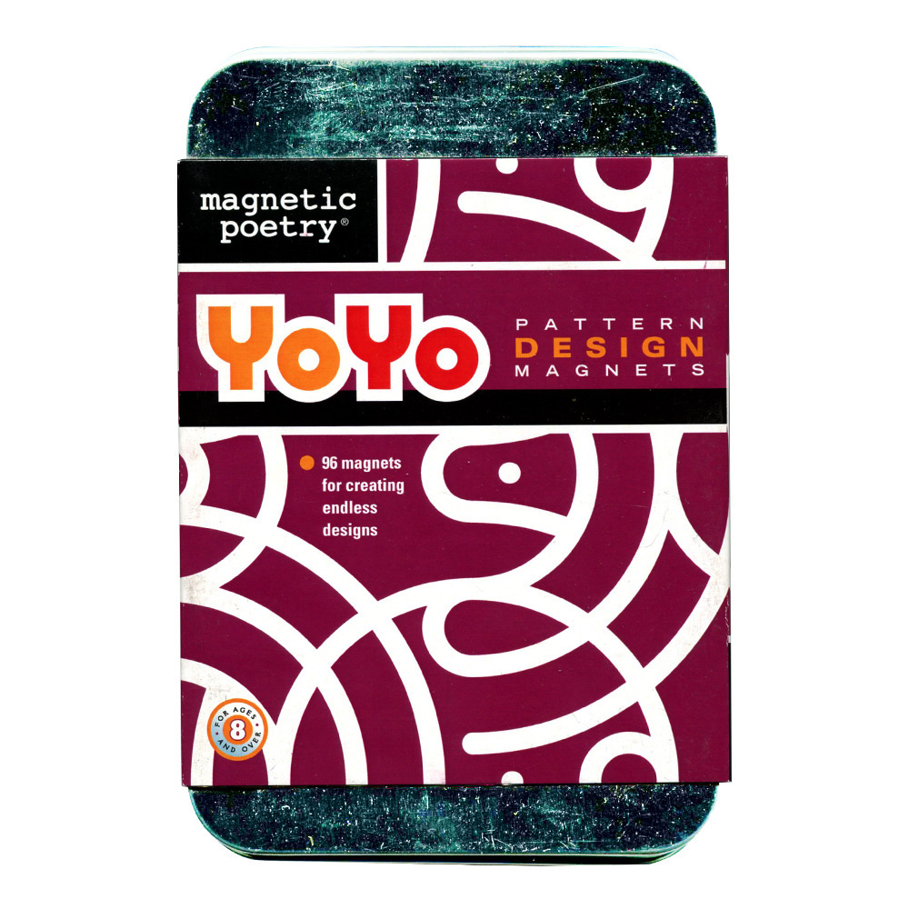Magnetic Poetry: Yoyo Design Magnets