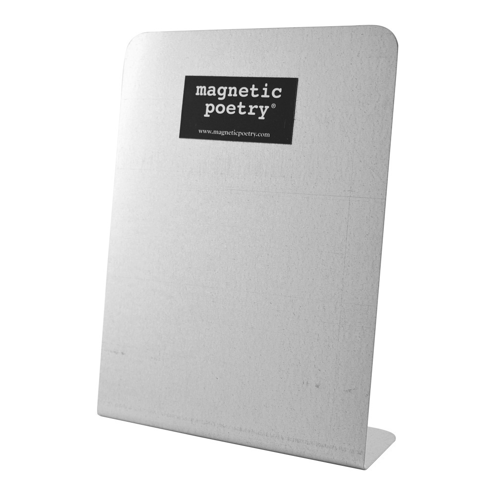Magnetic Poetry Small Metal Easel 6X8 Inches