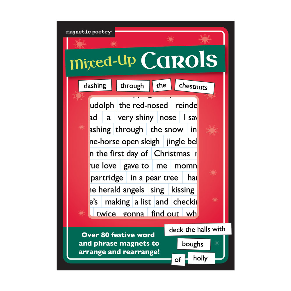 Magnetic Poetry: Mixed Up Carols