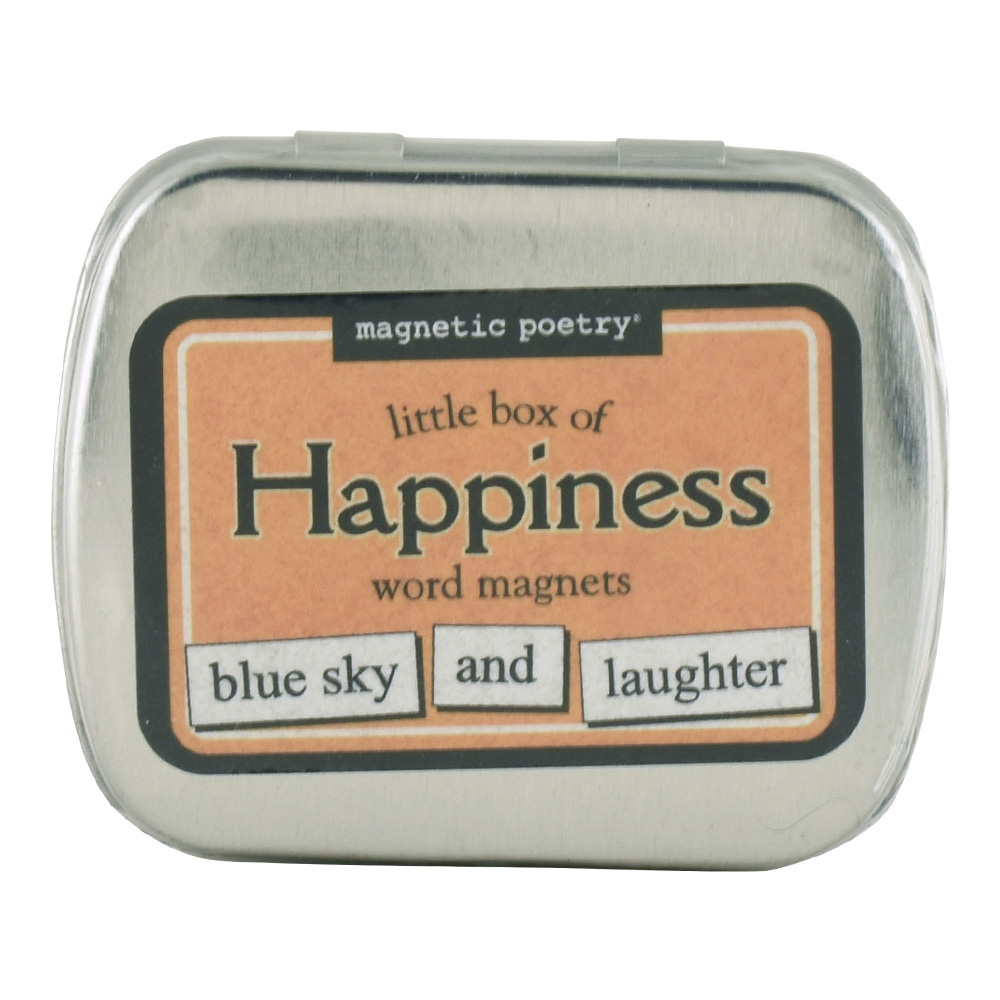 Magnetic Poetry: Little Box Of Happiness Word