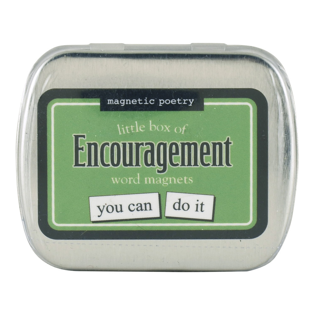 Magnetic Poetry: Little Box Of Encouragement