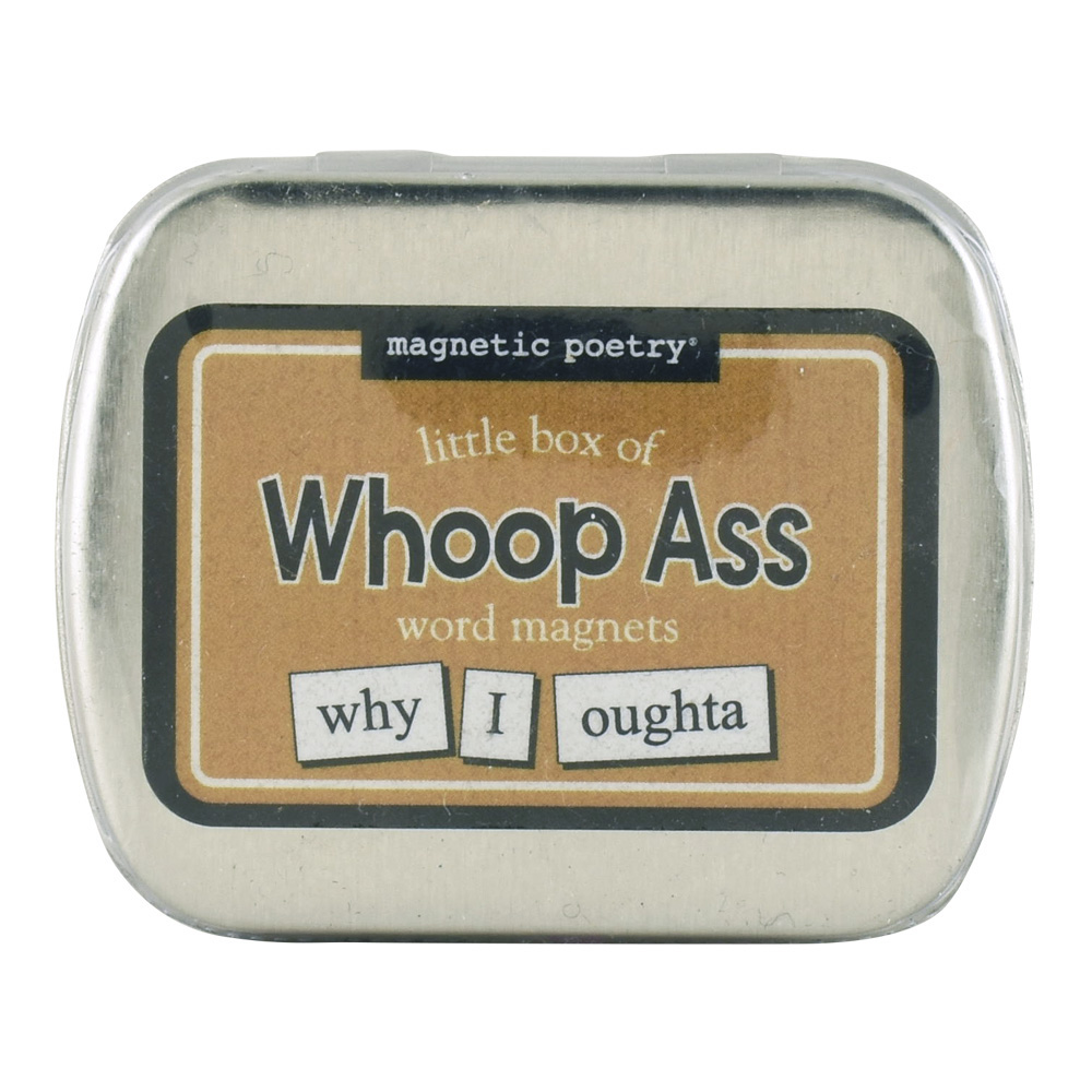 Magnetic Poetry: Little Box Of Whoop Ass Word