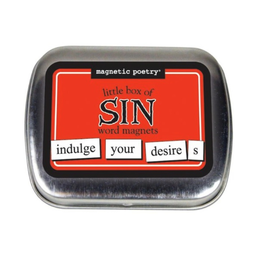 Magnetic Poetry: Little Box Of Sin Words