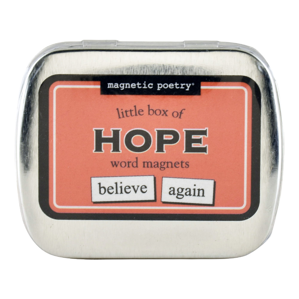 Magnetic Poetry: Little Box Of Hope Words