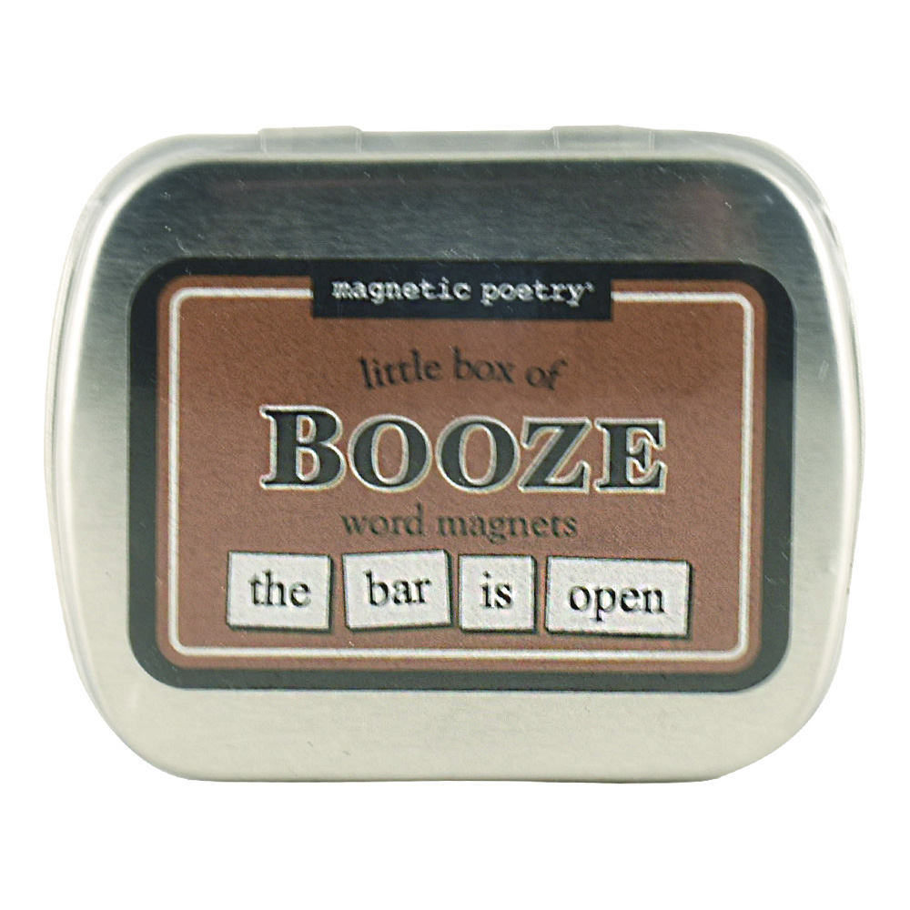 Magnetic Poetry: Little Box Of Booze Words