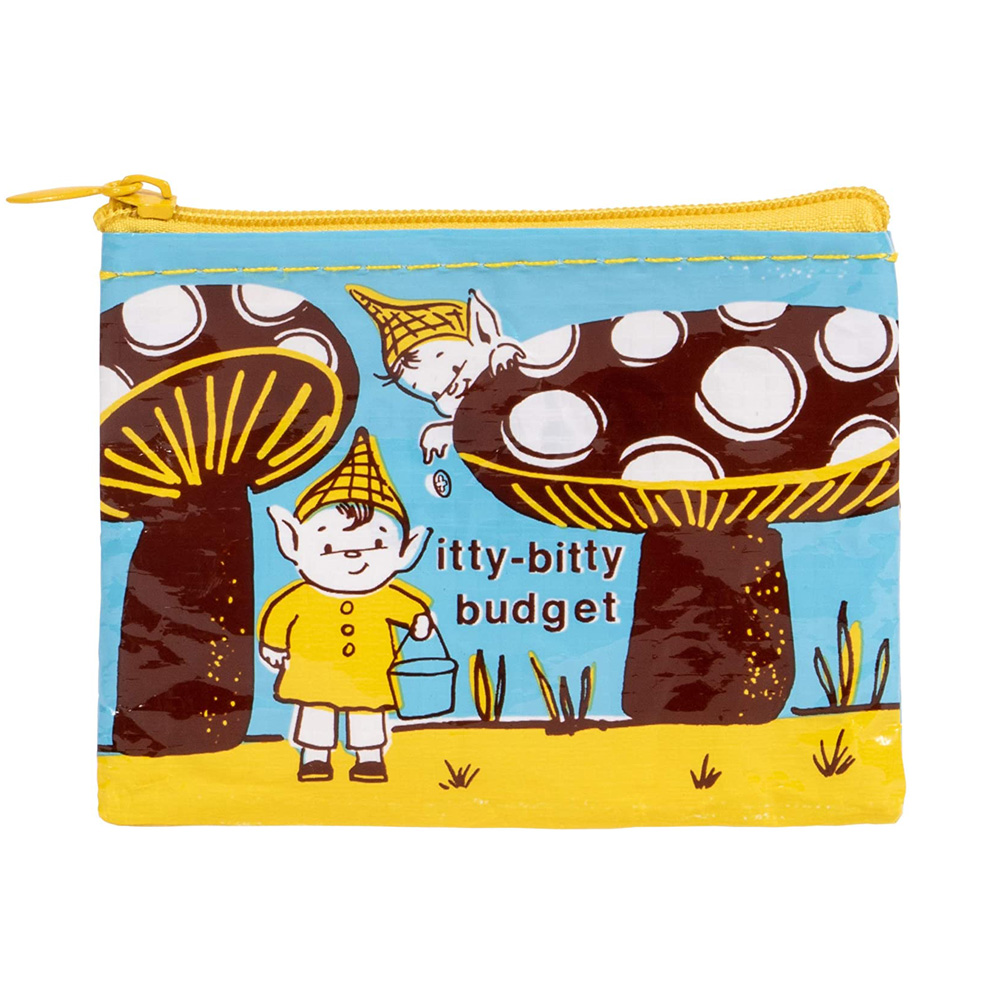 Blue Q Coin Purse Cash Cow