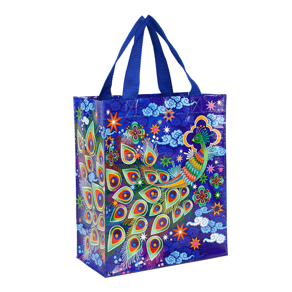 Blue Q Handy Tote Peacock
