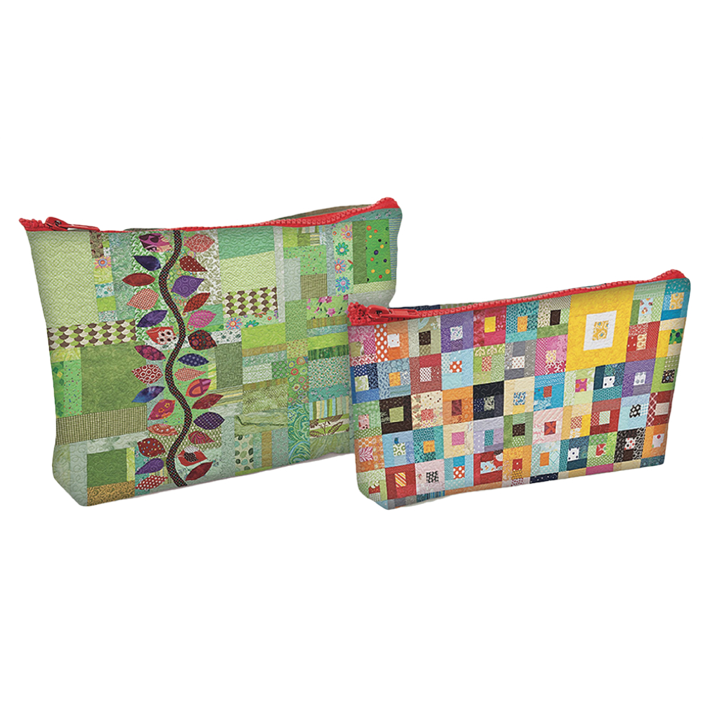 Eco Pouch Set - Sunday Morning Quilts