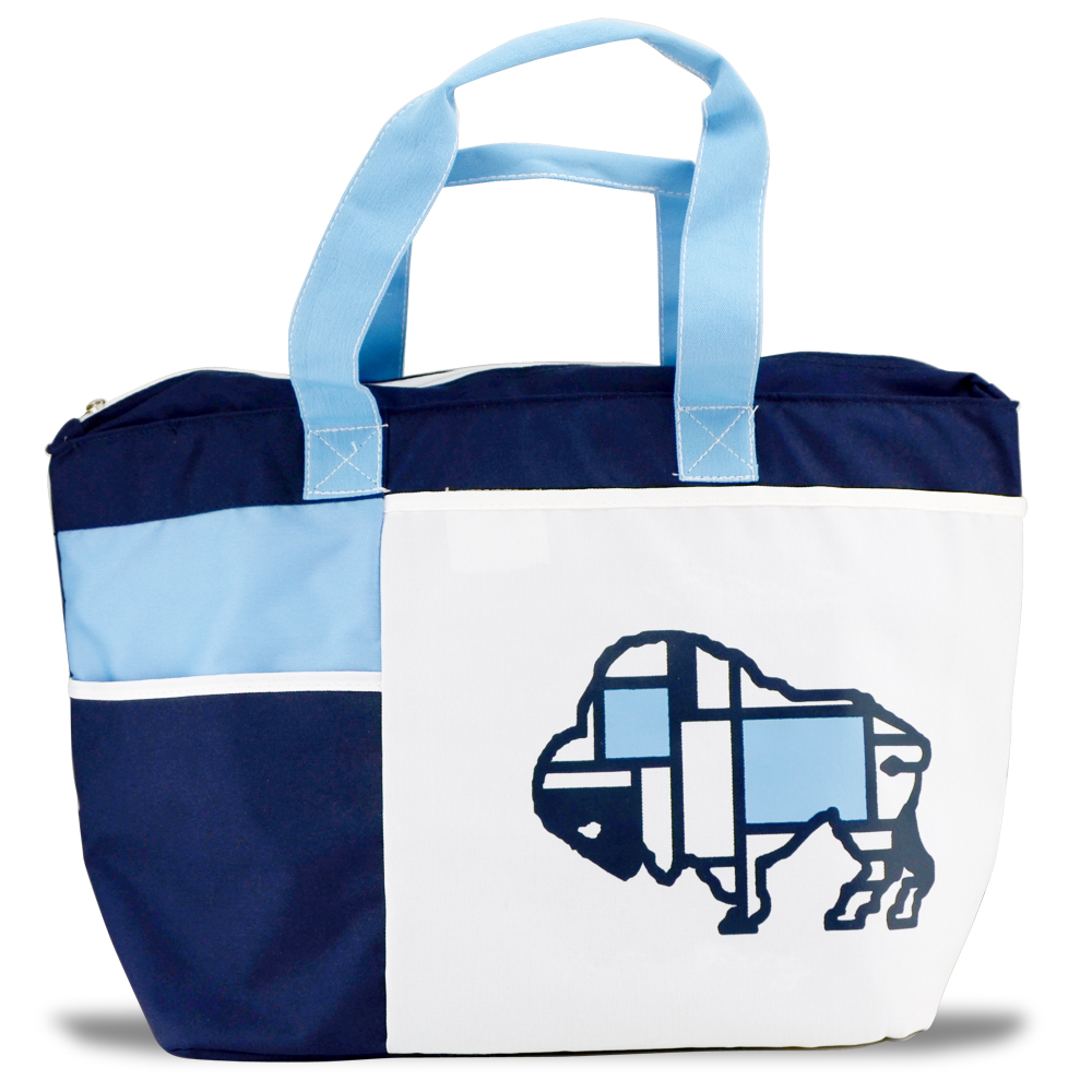 Buffalo Large Insulated Tote - Navy