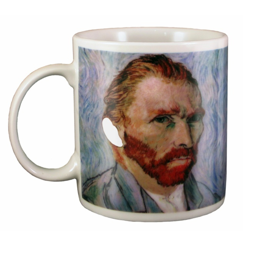 Coffee Mug: Van Gogh's Disappearing Ear