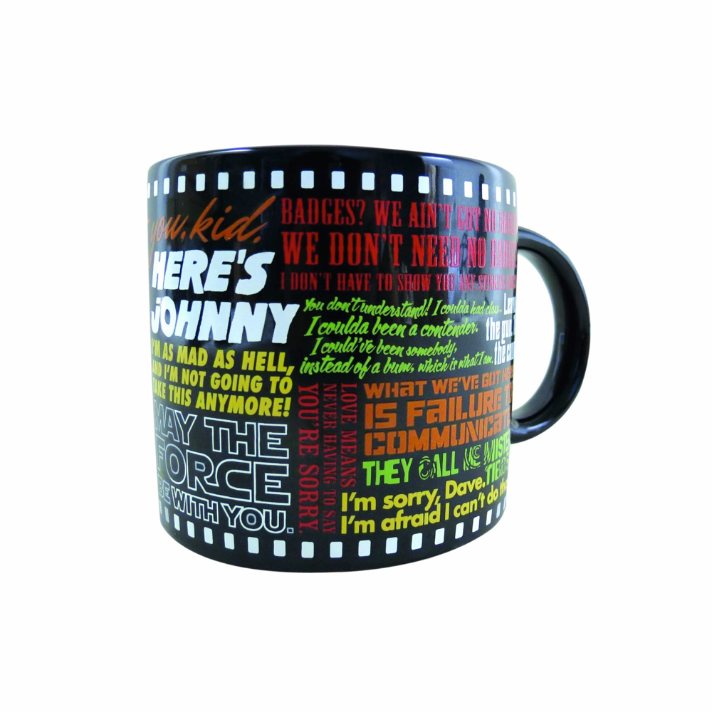 Coffee Mug: Movie Quotes
