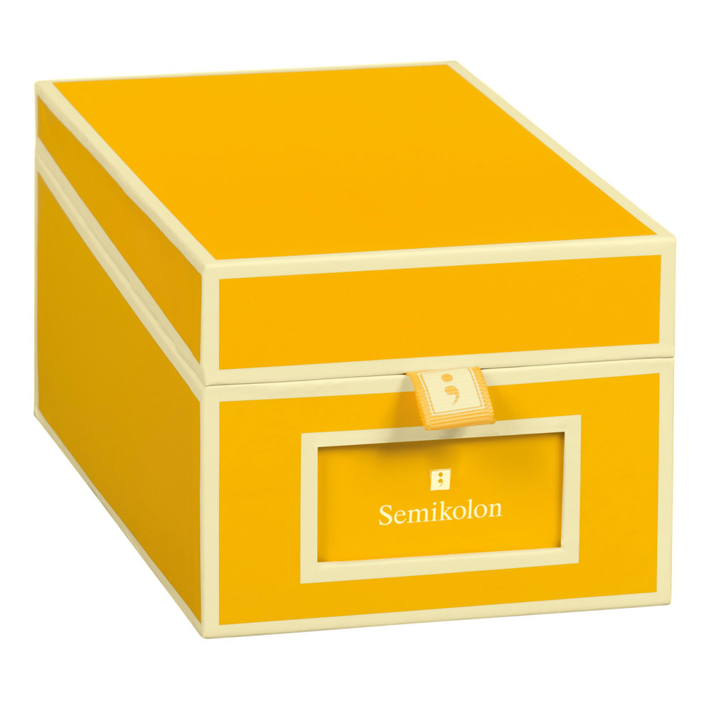 Semikolon Business Card Box Sun
