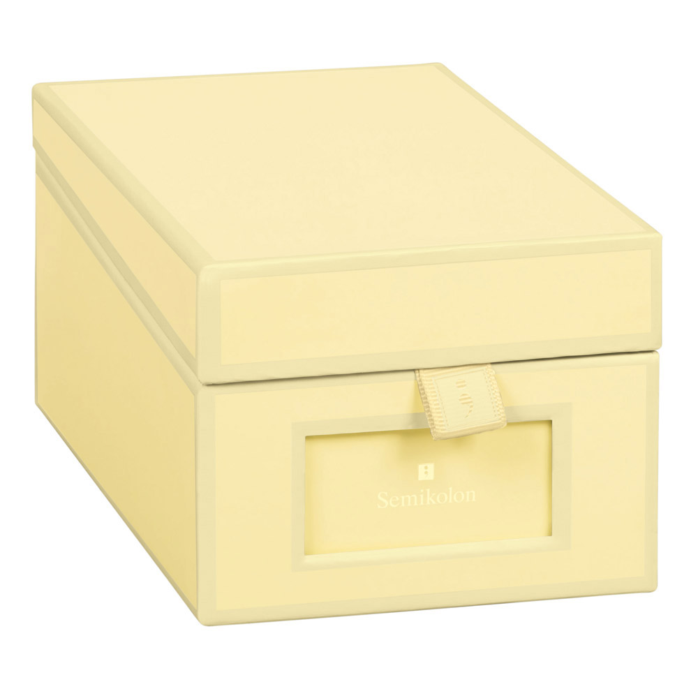 Semikolon Business Card Box Chamois