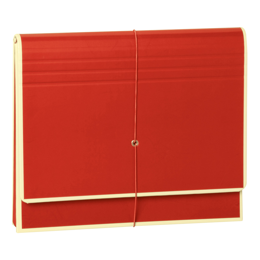 Semikolon Accordian File 12.6X10.8 Inch Red