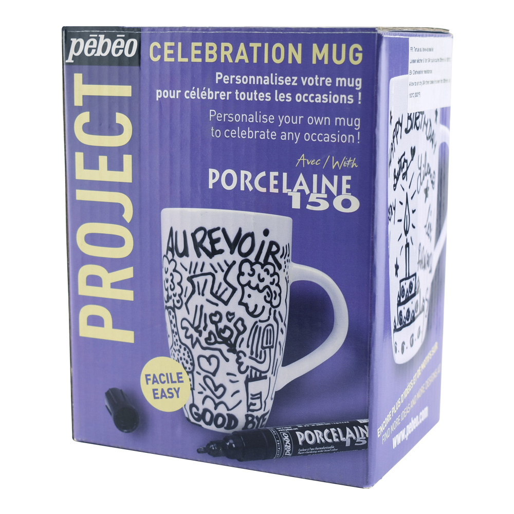 Pebeo Celebration Mug Kit