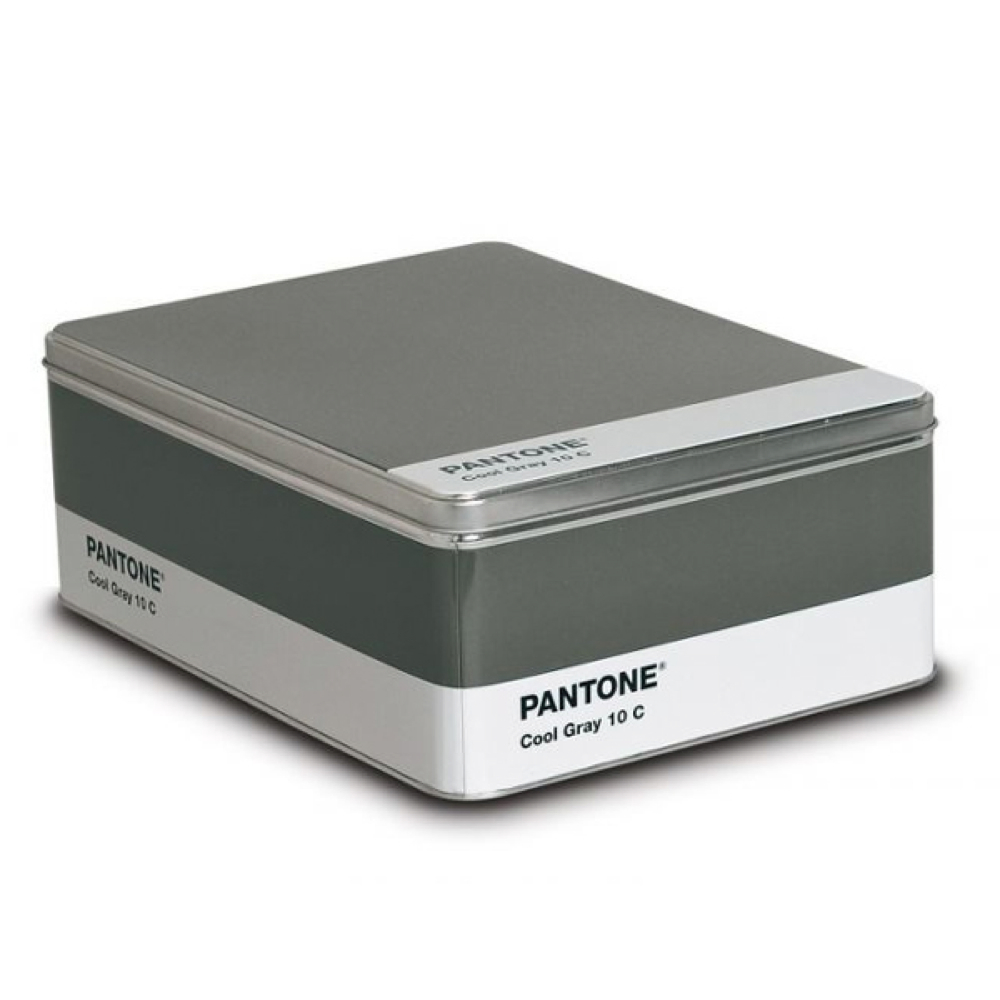 Pantone Metal Storage Box Cool Gray 10C