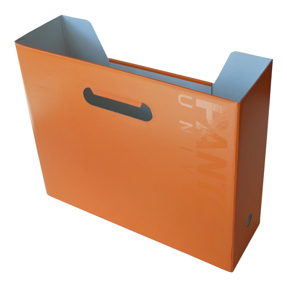Pantone Universe File Box Horizontal Flame Or