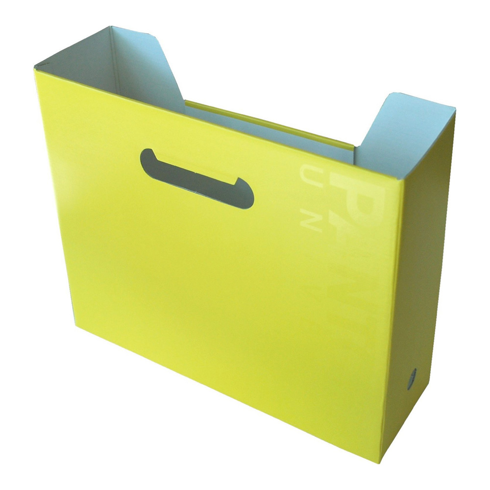Pantone Universe File Box Horizontal Maize Ye