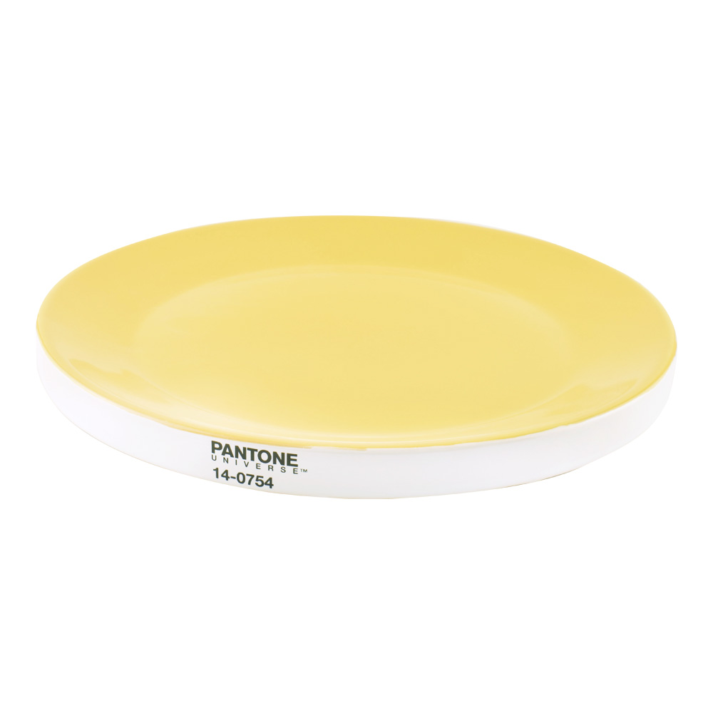 Pantone Universe Large Plate Yellow 14-0754