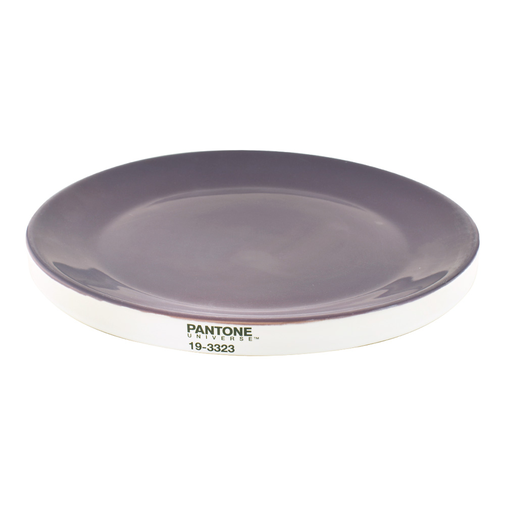 Pantone Universe Large Plate Purple 19-3323