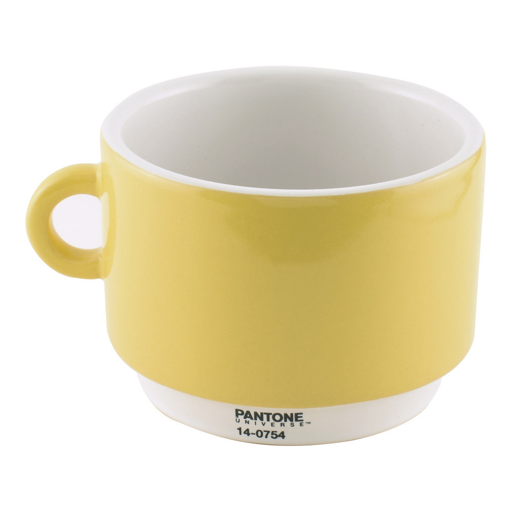 Pantone Universe Coffee Cup Yellow 14-0754