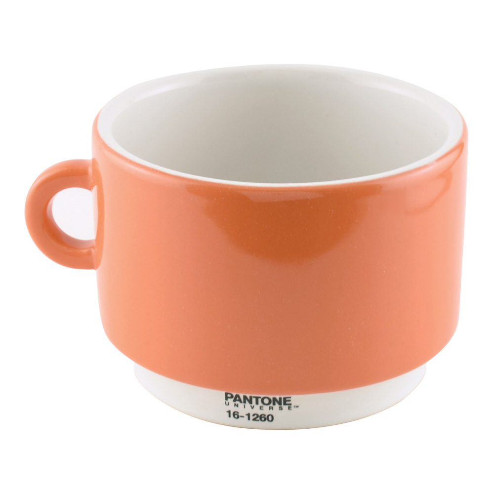 Pantone Universe Coffee Cup Orange 16-1260