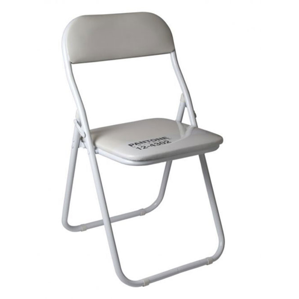 Pantone Chair White 12-4302