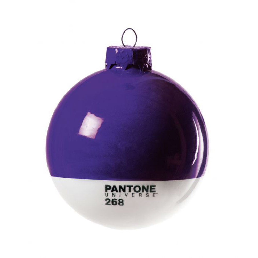 Pantone Christmas Ornament 268 Purple