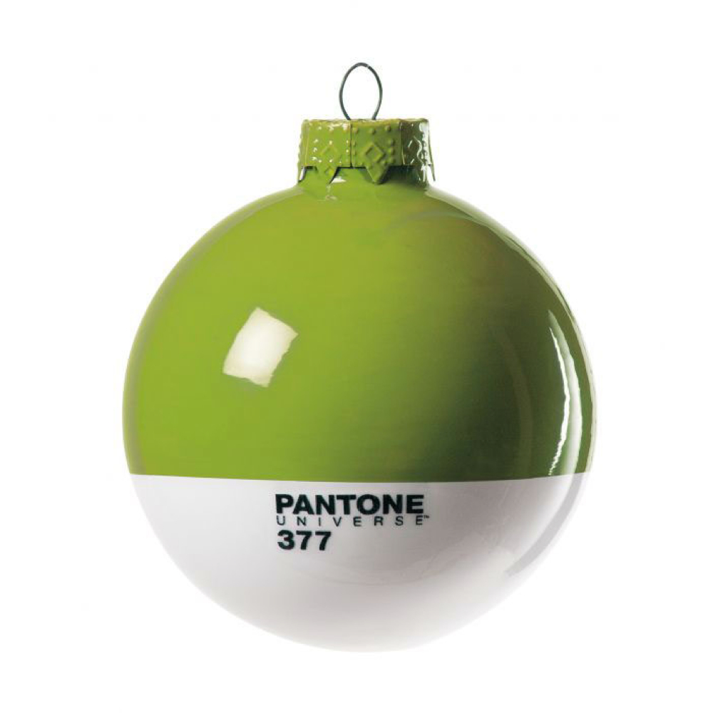 Pantone Christmas Ornament 377 Macaw Green