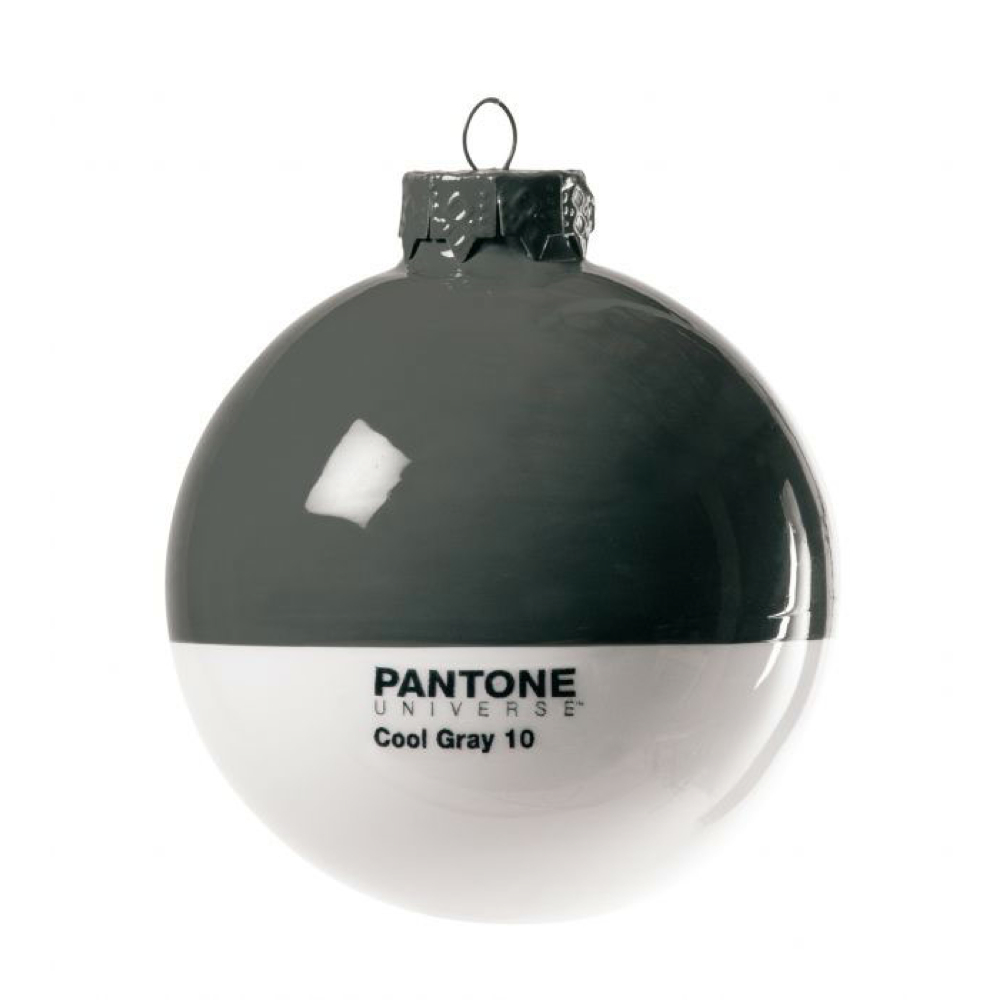 Pantone Christmas Ornament Cool Gray 10C
