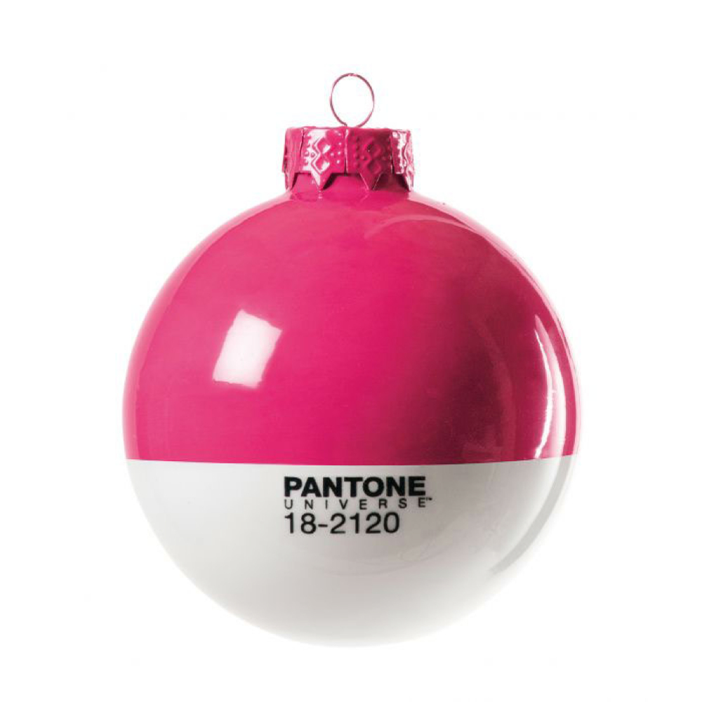 Pantone Christmas Ornament 18-2120 Honeysuckl