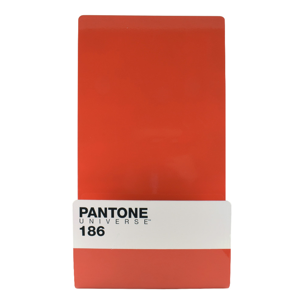 Pantone Metal Wallstore Ruby Red 186C