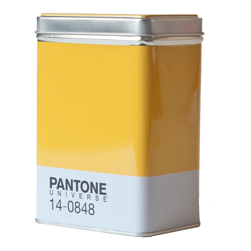 Pantone Metal Kitchen Box Mimosa 14-0848