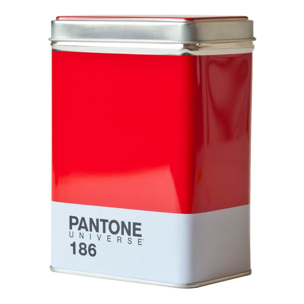 Buy Pantone Metal Kitchen Box Ruby Red 186