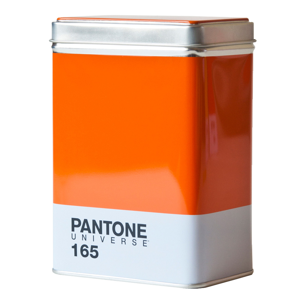 Buy Pantone Metal Kitchen Box Orange 165