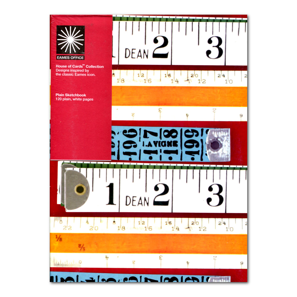 Eames Hoc A4 Tape Measures Notebook