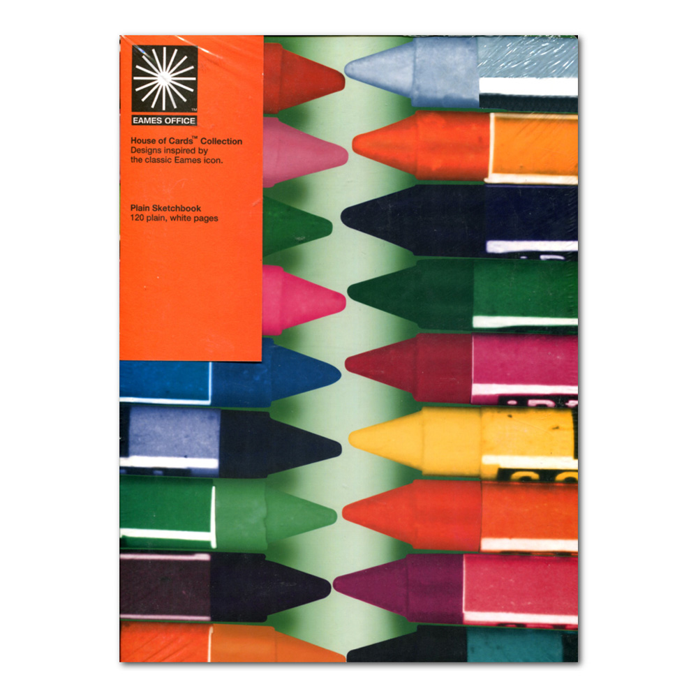 Eames Hoc A4 Crayons Notebook