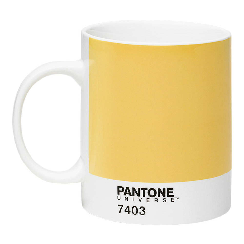 buy pantone universe mug 7403 yellow. Black Bedroom Furniture Sets. Home Design Ideas